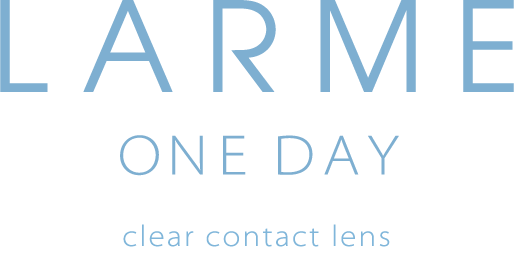 LARME ONE DAY clear contact lens